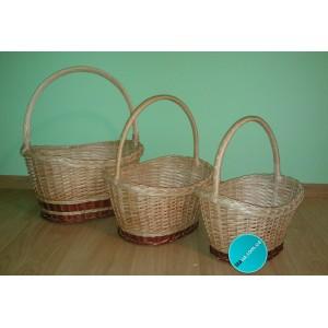 Набор плетеных корзин «Универсал»