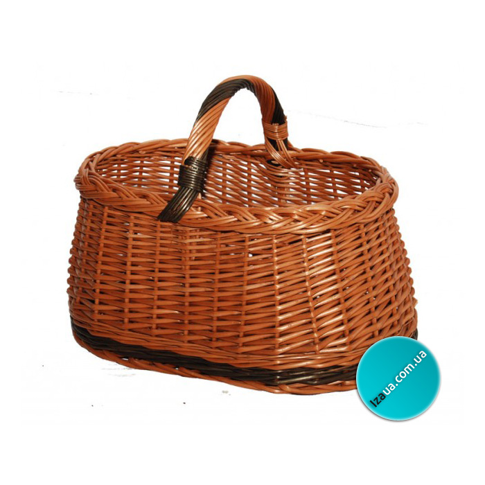 Купить Плетений кошик одиночний АРТ-003