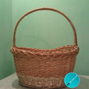 Плетений кошик з лози