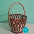 Плетена корзина  АРТ-062 «Яблочный Спас-медовый спас»