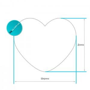 Плетене серце з лози