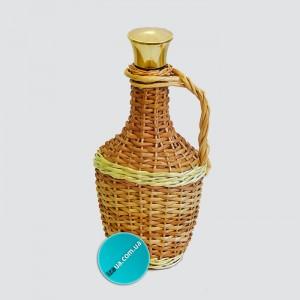 "Бутылка оплетенная лозой ""азарт или 0,5 л"""