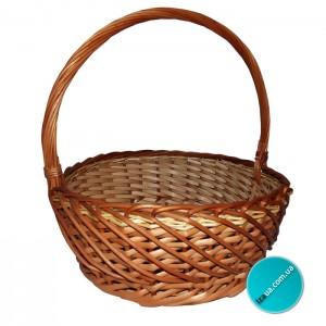 Подарочная корзина «классическая круглая»