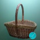 Плетена корзина - подарочная