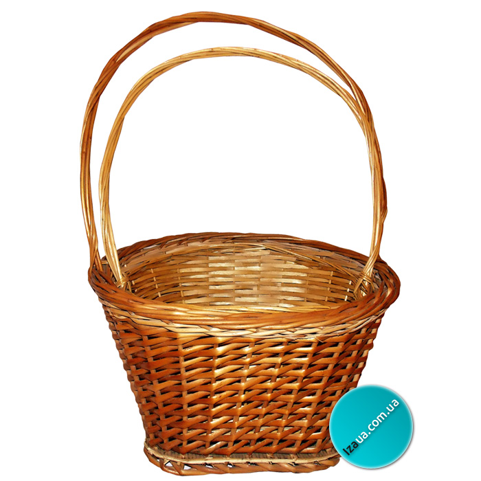 Купить плетені кошики для квітів